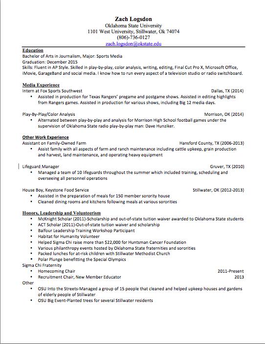 real resume jpg resume for lifeguard - Internal Resume Format